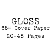 8.5 x 11 Hard Cover Photobook / 65# Cover Paper (20-48 Pages)