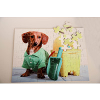 63 piece Personalized Puzzle Horizontal