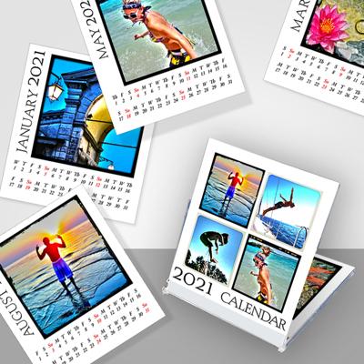 Jewel Case Calendar (2021)