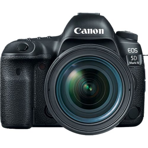 Canon-EOS 5D Mark IV with EF 24-70mm F4.0 L IS USM Lens-Digital Cameras