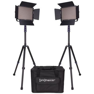 ProMaster-LED1000D Specialist LED 2 Light Transport Kit - Daylight #1875-Studio Lighting Kits