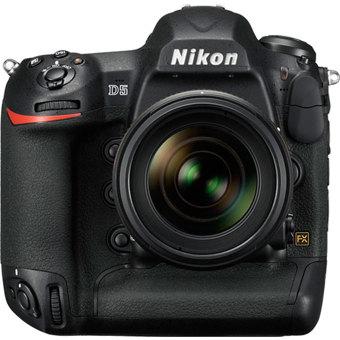 Nikon D5 DSLR Camera - Body Only - XQD - Black - Digital Cameras ...