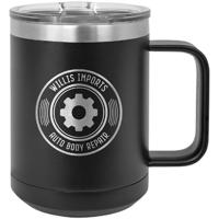 Tasse à café 15 oz noir LCM102