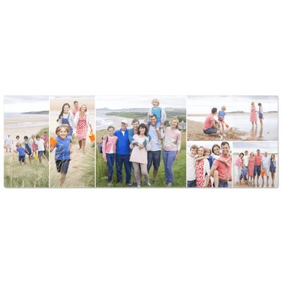 12x36 Horizontal Freestyle Collage