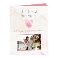 """Livre Photo (8""""x10"""") avec couverture souple -St-Valentin"""