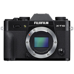 Fujifilm-X-T10 Compact System Camera - Body Only-Digital Cameras