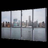 """4-8x20 Premium 1"""" Split Image Blocks"""