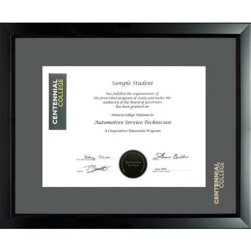 Centennial College Ridgeline Diploma Frame - CENT1316RL - Centennial ...