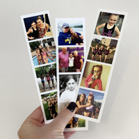 Photo Strip - set of 8 strips