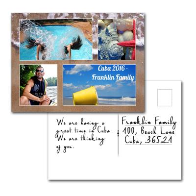 Carte postale - C