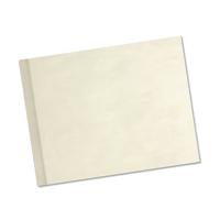 8.5 x 11 (Unibind) Pearl Linen