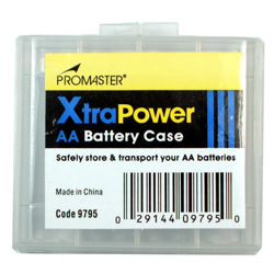 ProMaster-XtraPower AA battery Case #9795-Bags and Cases