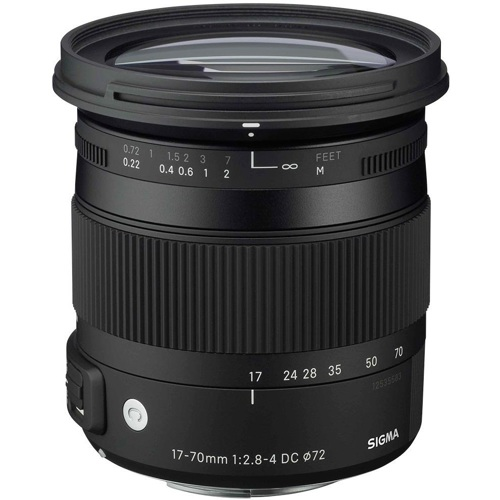 Sigma-17-70mm F2.8-4 DC Macro OS HSM Contemporary for Canon-Lenses - SLR & Compact System