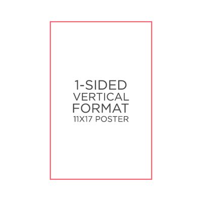 "25pk - 11"" x 17"" Poster"