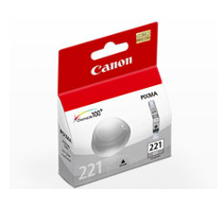 Canon-CLI-221 Gray Ink Tank-Ink Cartridges