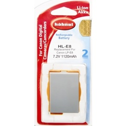 Hähnel-HL-E8 Replacement Battery for Canon LP-E8-Battery Packs & Adapters