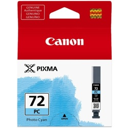 Canon-PGI-72PC - Photo Cyan Ink Cartridge-Ink Cartridges