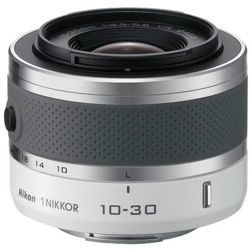 Nikon-1 NIKKOR VR 10-30mm f/3.5-5.6 Lens - White-Lenses - SLR & Compact System