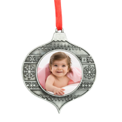 Metal Teardrop Ornament