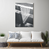11 x 14 inch Vertical Canvas Wrap (White Edges)