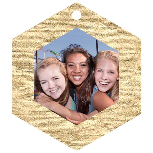 Hex Framed (Gold Foil)