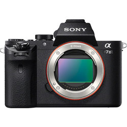 Sony-a7II Full-frame Mirrorless Interchangeable-Lens Camera - Body Only - Black-Digital Cameras