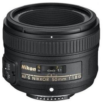 Nikon-AF-S Nikkor 50mm f1.8G-Lenses - SLR & Compact System