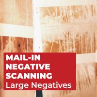 Negative Scanning - Large Negatives