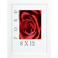 Framed 8x12 print - White