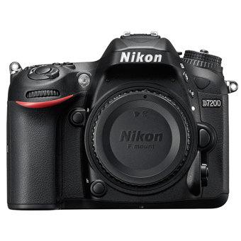 Nikon-D7200 DSLR Camera with Full HD Recording - Body Only - Black-Digital Cameras