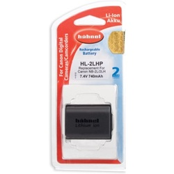 Hähnel-HL-2LHP Replacement Battery for Canon NB-2LH-Battery Packs & Adapters
