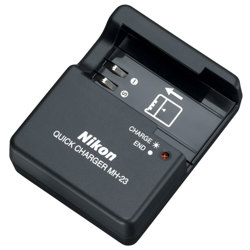 Nikon-MH-23 Quick Charger-Battery Chargers