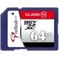Proflash-Micro SDXC 64Go Classe 10-Cartes mémoires, cassettes et disques