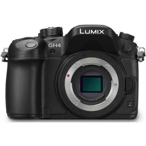 Panasonic-Lumix DMC-GH4 Compact System Camera - Body Only - Black-Digital Cameras