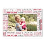 "5x7"" Single Layer HD Metal Mum"