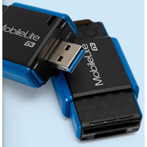 Kingston-MobileLite G3 USB 3.0 Multi-Reader #FCR-MLG3-Memory Readers