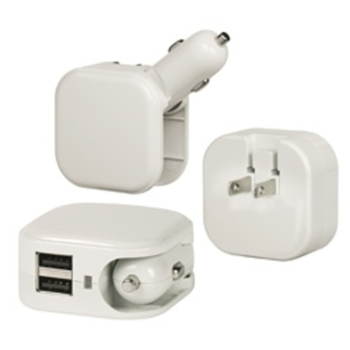 ProMaster-USB Charger - All in One AC/DC Dual Port 2.1A  #9164-Smartphone and Tablet Accessories