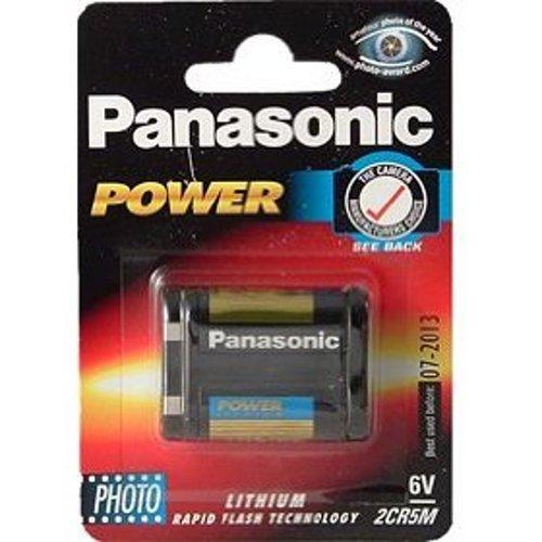 Panasonic-2CR5 Pile au lithium-Piles