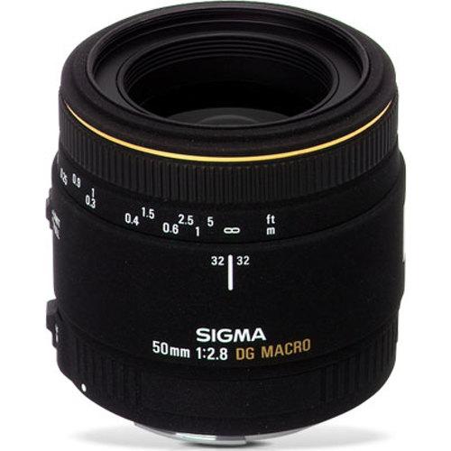 Sigma-50mm F/2.8 EX DG Macro for Nikon (En Liquidation)-Objectifs pour réflexes et systèmes compacts
