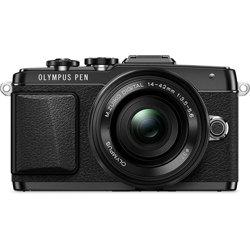Olympus-PEN E-PL7 Interchangeable Lens Digital Camera with M.Zukio 14-42mm f3.5-5.6 II R Lens-Digital Cameras