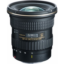 Tokina-AT-X 11-20mm F2.8 Pro DX for Canon-Lenses - SLR & Compact System