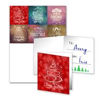 6 Gift Tags Folded - B