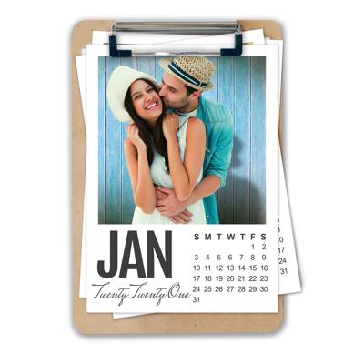 125x175mm - 2021 Clip-It Calendar