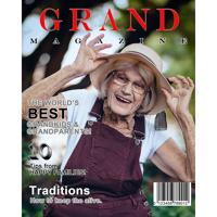 8x10 Grand Magazine Cover