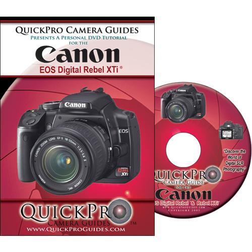 Canon EOS Digital Rebel XTi Interactive DVD Tutorial