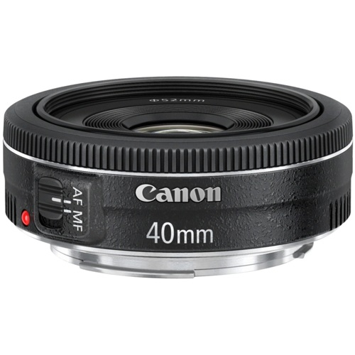 Canon-EF 40mm f/2.8 STM-Lenses - SLR & Compact System