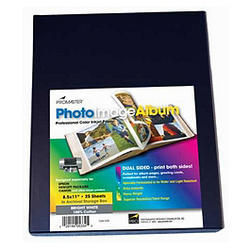 Promaster Photoimage Semi Gloss Album Inkjet Paper 85 X 11 15