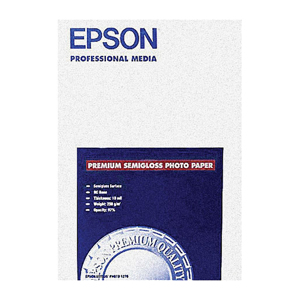Epson S041331 Premium Photo Paper Semigloss 85 X 11 20 Sheets