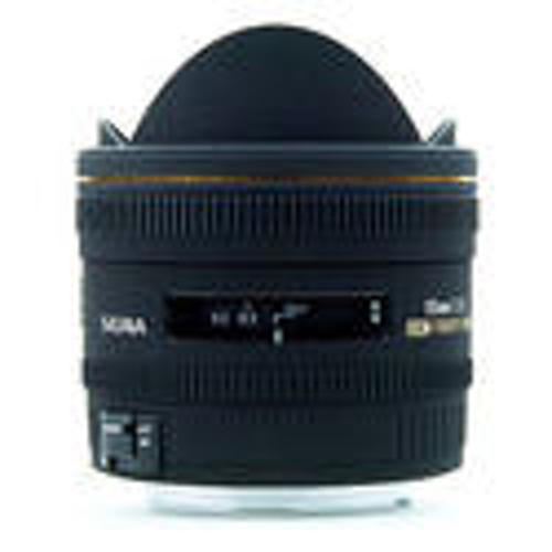 Sigma-10mm F2.8 EX DC Fisheye HSM for Canon-Lenses - SLR & Compact System