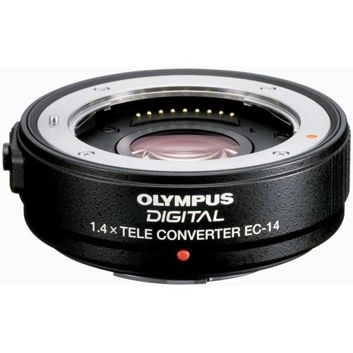 Olympus-EC-14 1.4x Teleconverter-Lens Converters & Adapters
